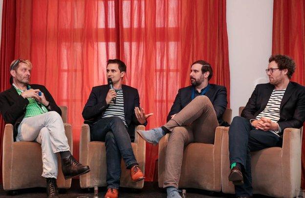 BVDW-Paneldiskussion in Hamburg, Bild: BVDW Presse /  Fotografin: Carolin Thiersch