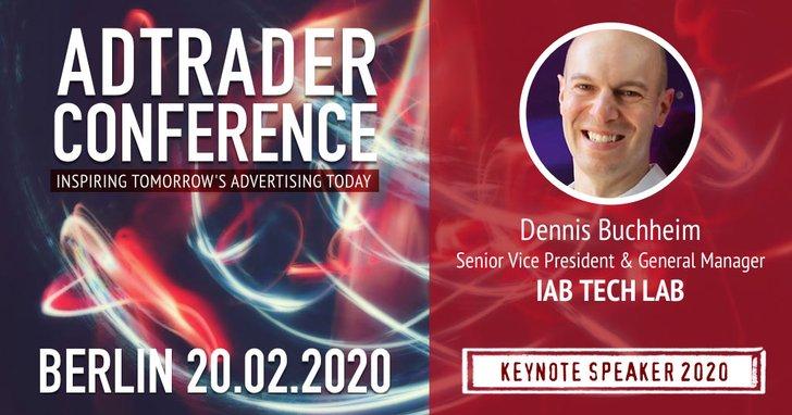Hören Sie Dennis Buchheim auf der Adtrader Conference 2020!
