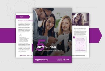 Bild Whitepaper Der 5-Stufenplan für leistungsstarkes Affiliate-Marketing