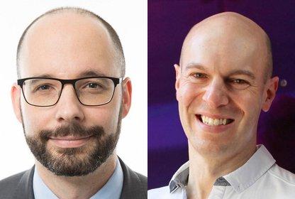 Achim Schlosser von der European NetID und Dennis Buchheim vom IAB Tech Lab