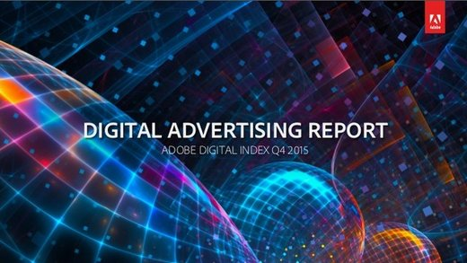 Adobe Q4 2015 Digital Advertising Report