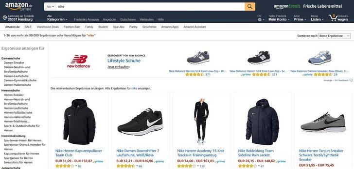 Bild: Screenshot Amazon