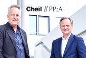 v.l.: Volker Selle, Rolf Miller, Foto: Cheil Germany