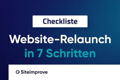 Bild Whitepaper Die Checkliste für einen erfolgreichen Website-Relaunch in 7 Schritten