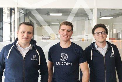 Das Didomi-Gründer-Team bestehend aus Raphael Boukris, Romain Gauthier und Jawad Stouli (vlnr), Bild: Didomi