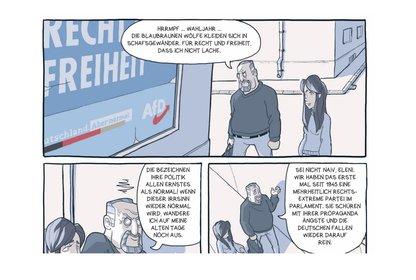 "Bild: ""Vogelschiss - Die Graphic Novel gegen Rechts"""