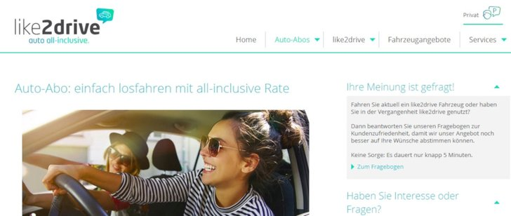 Bild: Screenshot Like2Drive.de