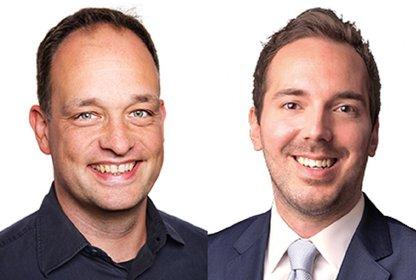 Nils Grabbert und Maximilian Jaekel, Bilder: Yieldkit