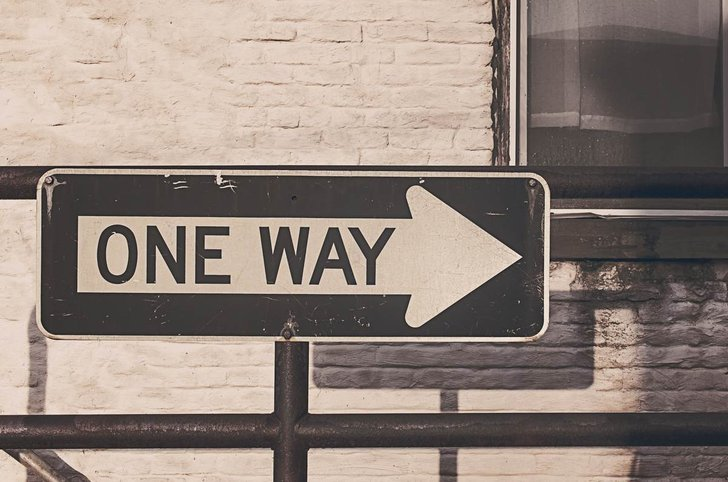 Bild: One Way - gratisography.com