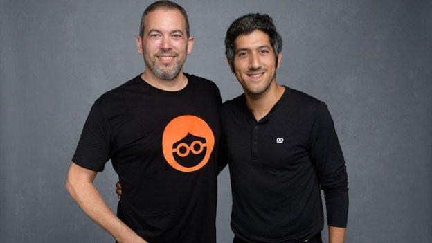 Yaron Galai, Co-CEO von Outbrain und Adam Singolda, CEO von Taboola, Bild: Taboola Presse