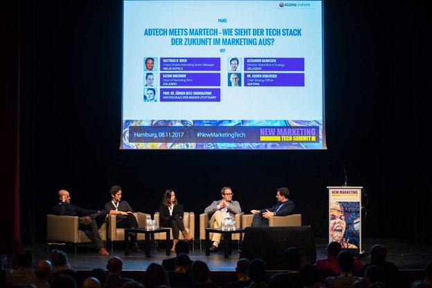 Panel Adtech Meets Martech, Foto: ADZINE EVENTS - Kay Michalczak
