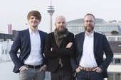 V.l.n.r.: Peter Steffens, Thorsten Decker, Klaus Stinnertz, Bild: OMD Germany