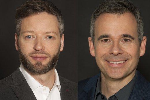 v.l.: Rainer Brosch, Thomas Diezmann