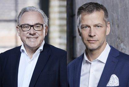 v.l.: KDME Geschäftsführer Frank Schneider und Christian Muche, Foto: KDME