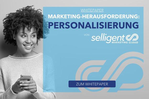 Bild Whitepaper Personalisierung als Herausforderung im Marketing
