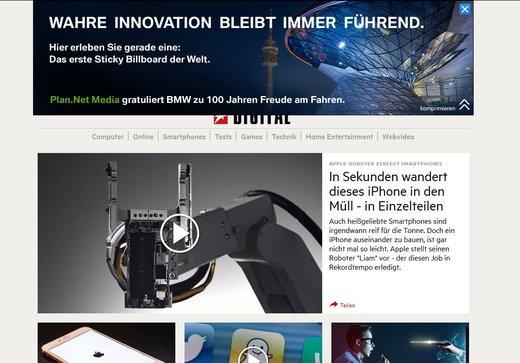 Screenshot: Stern.de