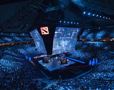 eSports Event 2015, CCO, Dota-Turnier:The International 2015: Bild: Zilsonzxc - CCO