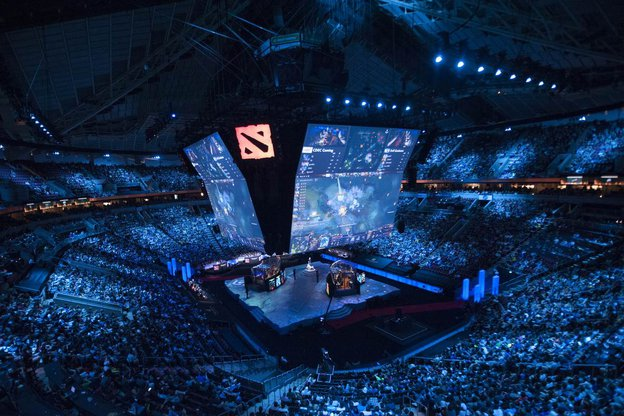 Dota-Turnier: The International 2015, Bild: Zilsonzxc - https://commons.wikimedia.org