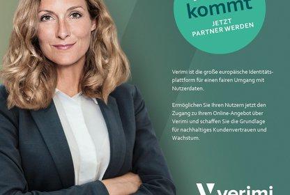 Eines der unterschiedlichen Kampagnen Visuals aus der neuen Verimi Kampagne / Quelle: Serviceplan