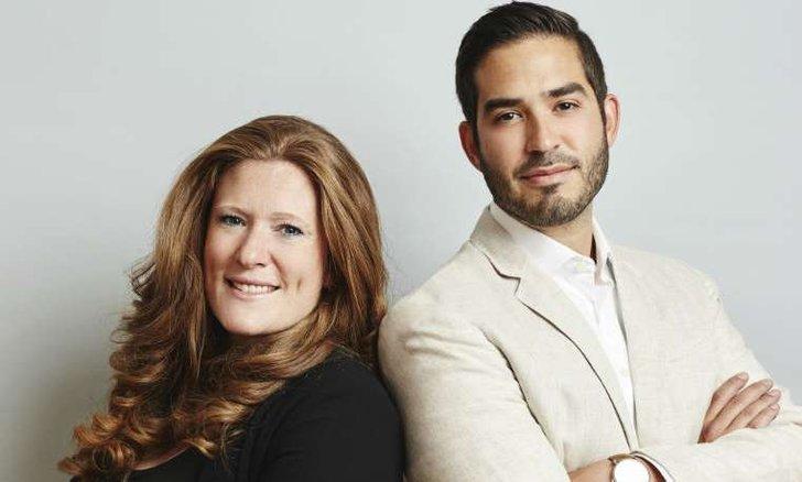 v.l.: Vanessa Bouwman,  Roberto Collazos Garcia, Presse: We are Social