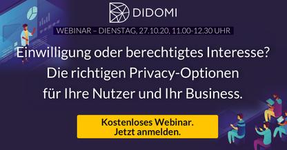 Bild Einwilligung oder berechtigtes Interesse? Die richtigen Privacy-Optionen für Ihre Nutzer und Ihr Business.