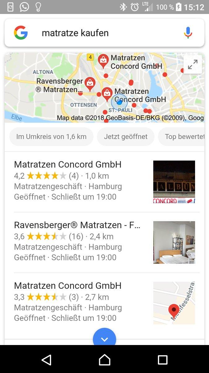 Entrancing Matratzen Kaufen Hamburg Ideas Of Aktuelle Adwords Kampagne Am Beispiel » Vergrösserung