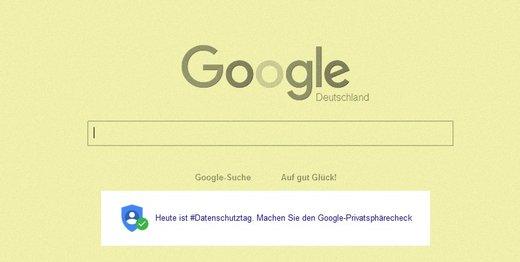 Screenshot Google.de