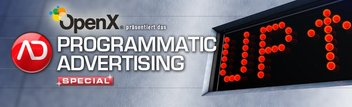 Header-Grafik ADZINE KW 22 - Programmatic Advertising Special