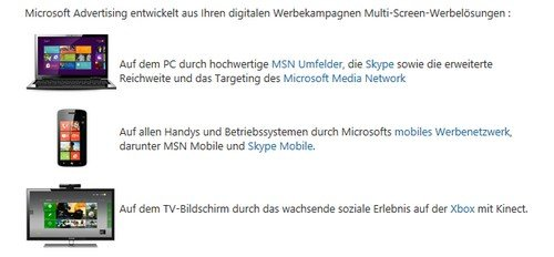 Bild: Microsoft Advertising (Website)