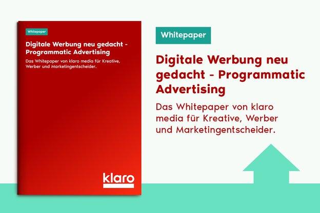 Bild Whitepaper Digitale Werbung neu gedacht