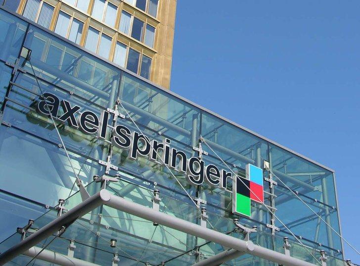 Axel-Springer-Haus Berlin, Presse: Axel Springer SE
