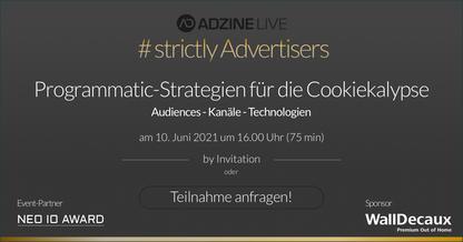 Bild Programmatic-Strategien für die Cookiekalypse - #StrictlyAdvertisers