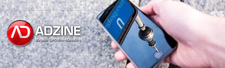 ADZINE KW 13 - Toxische Mobile Ads + Mobile Customer Journey + Entscheider Portrait (Foto: DerProjektor -photocase.com)