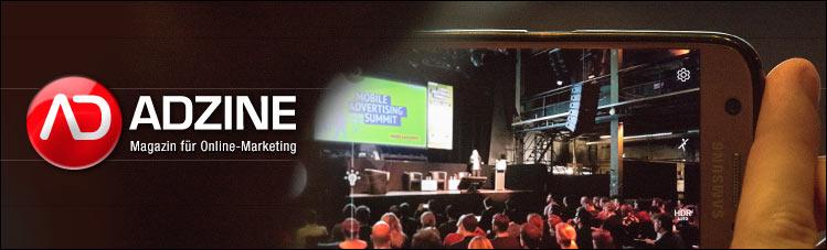ADZINE KW 18 - Mobile Ad Summit Recap, Cambridge Analytica, DSGVO (Bild: ADZINE Events - Kay Michalczak; Bearb.: Tim Teichert)