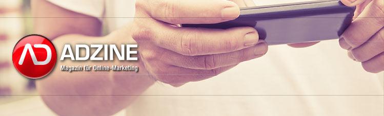 ADZINE KW 16 - Smartphonenutzung in Deutschland + Studien für die Mobile Werbeplanung ( ponsulak, dollarphotoclub.com)